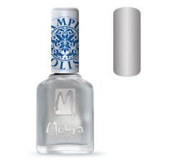 Moyra Lakier do stempli 08 Silver 12 ml