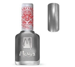 Moyra Lakier do stempli 25 Chrome Silver 12 ml