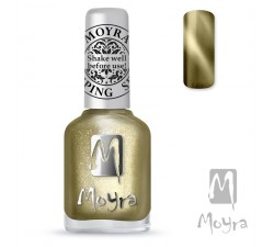 Moyra Lakier do stempli 31 Cat Eye Magnetic Gold 12 ml