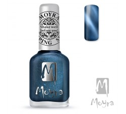 Moyra Lakier do stempli 33 Cat Eye Magnetic Blue 12 ml