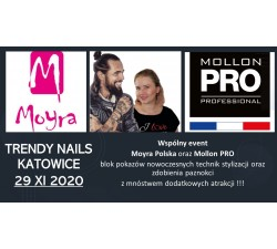 "Event Moyra i Mollon: ""TRENDY NAILS"" 29 XI 2020"